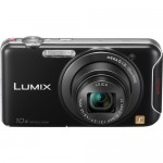 Panasonic Lumix DMC-SZ5 Wi-Fi Pocket Camera - Front / Top