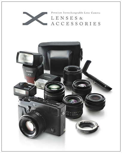 Fujifilm X-Pro1 Lenses & Accessories Brochure