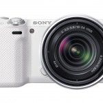 Sony Alpha NEX-5R Mirrorless Camera - White