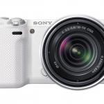 Sony Alpha NEX-5R Mirrorless Camera - White