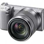 Sony Alpha NEX-5R Mirrorless Camera - Angle View