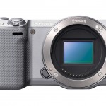 Sony Alpha NEX-5R - Sensor - Silver