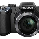 Olympus Stylus SP-820UZ iHS 40x Superzoom Camera - Black