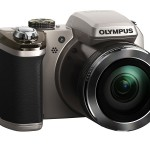 Olympus Stylus SP-820UZ iHS Superzoom Camera - Silver - Front Right