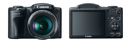 Canon's New PowerShot SX500 IS Superzoom Camera