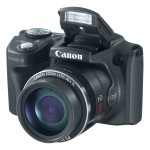 Canon PowerShot SX500 IS Superzoom Camera - Pop-Up Flash