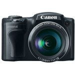 Canon PowerShot SX500 IS Superzoom Camera - Front
