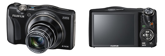 Fujifilm FinePix F800EXR Wi-Fi Pocket Superzoom Camera