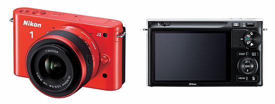 Nikon 1 System J2 - Front & Back