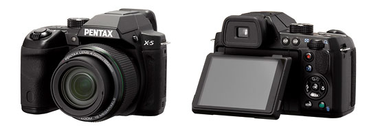 The Pentax X-5 - New 26x Superzoom DSLR Lookalike • Camera News and