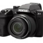 Pentax X-5 26x Superzoom Camera - Black