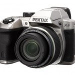 Pentax X-5 26x Superzoom Camera - Silver