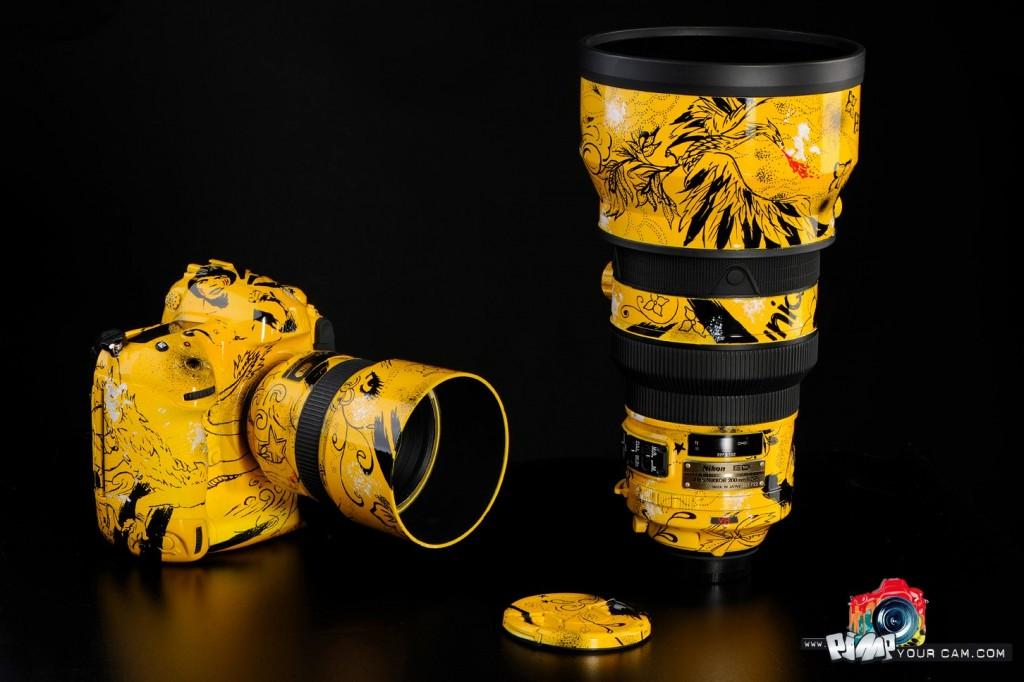 Customized Nikon D4 DSLR by PimpYourCam.com