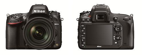 Nikon D600 24-Megapixel FX-Format Enthusiast DSLR