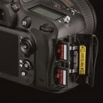 Nikon D600 - Dual SD Card Slots