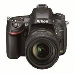 Nikon D600 - Top Front View