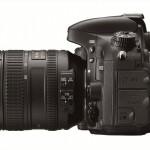 Nikon D600 - Left Side