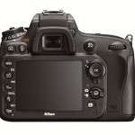 Nikon D600 - Rear View With 3.2-Inch LCD Display