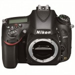 Nikon D600 - Top Front With No Lens