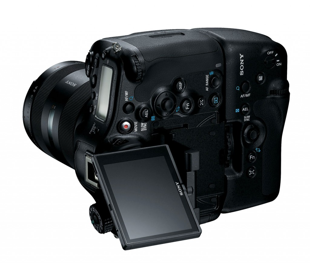 Sony SLT-A99 With 3-inch Articulated LCD Display
