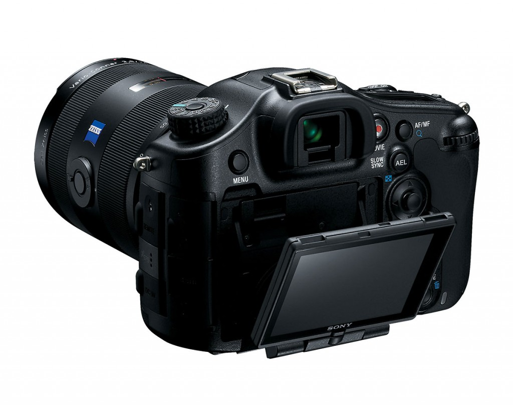 Sony SLT-A99 With 3-inch Tilt-Swivel LCD Display