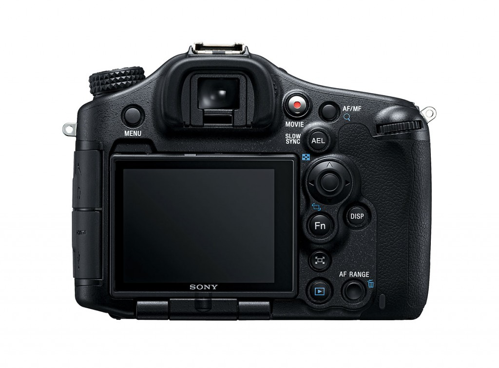 Sony Alpha SLT-A99 - Rear View