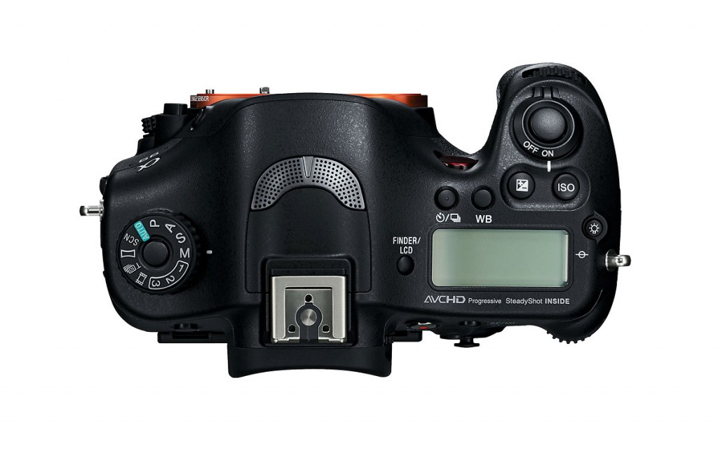 Sony SLT-A99 Body - Top View