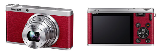 Fujifilm XF1 Premium Pocket Camera - Front & Back