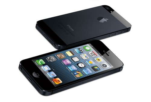 The New iPhone 5 - Front & Back - Black