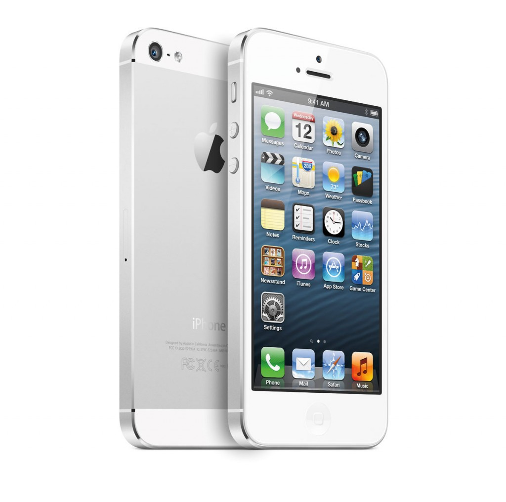 iPhone 5 - Front & Back - White
