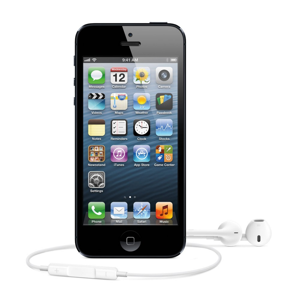 iPhone 5 with EarPods