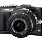 Olympus E-PL5 - Black - Angle View