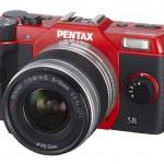 Pentax Q10 Mirrorless Camera - Red
