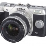 Pentax Q10 Mirrorless Camera - Silver