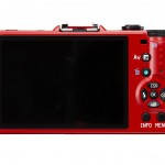 Pentax Q10 - Rear View - Red