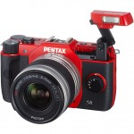Pentax Q10 - Pop-Up Flash - Red