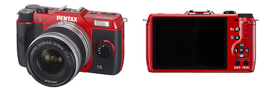 Pentax Q10 Miniature Mirrorless Camera - Front & Back