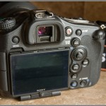Sony Alpha A99 - Upper Left Rear View