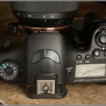 Sony Alpha A99 - Top View & Controls