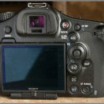Sony Alpha A99 - Rear View & Controls
