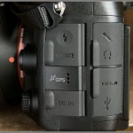 Sony A99 DSLR - Accessory Ports
