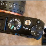 Sony RX1 - Top Plate With Mode Dial & Exposure Compensation