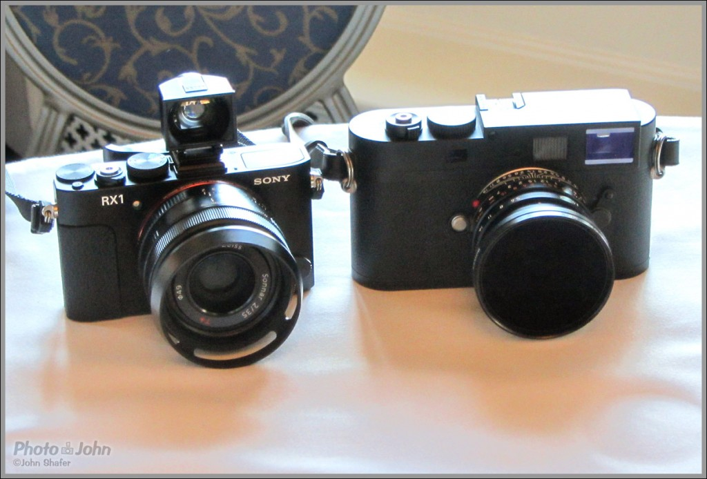 The Sony RX1 Full-Frame Compact Camera With A Leica M-Monochrom ...