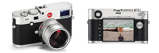 New Leica M-Rangefinder - Front & Back