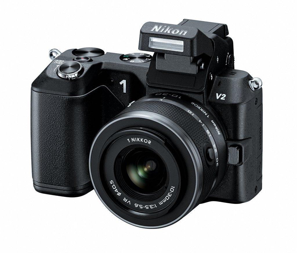 Nikon 1 V2 Compact System Camera - New Pop-Up Flash