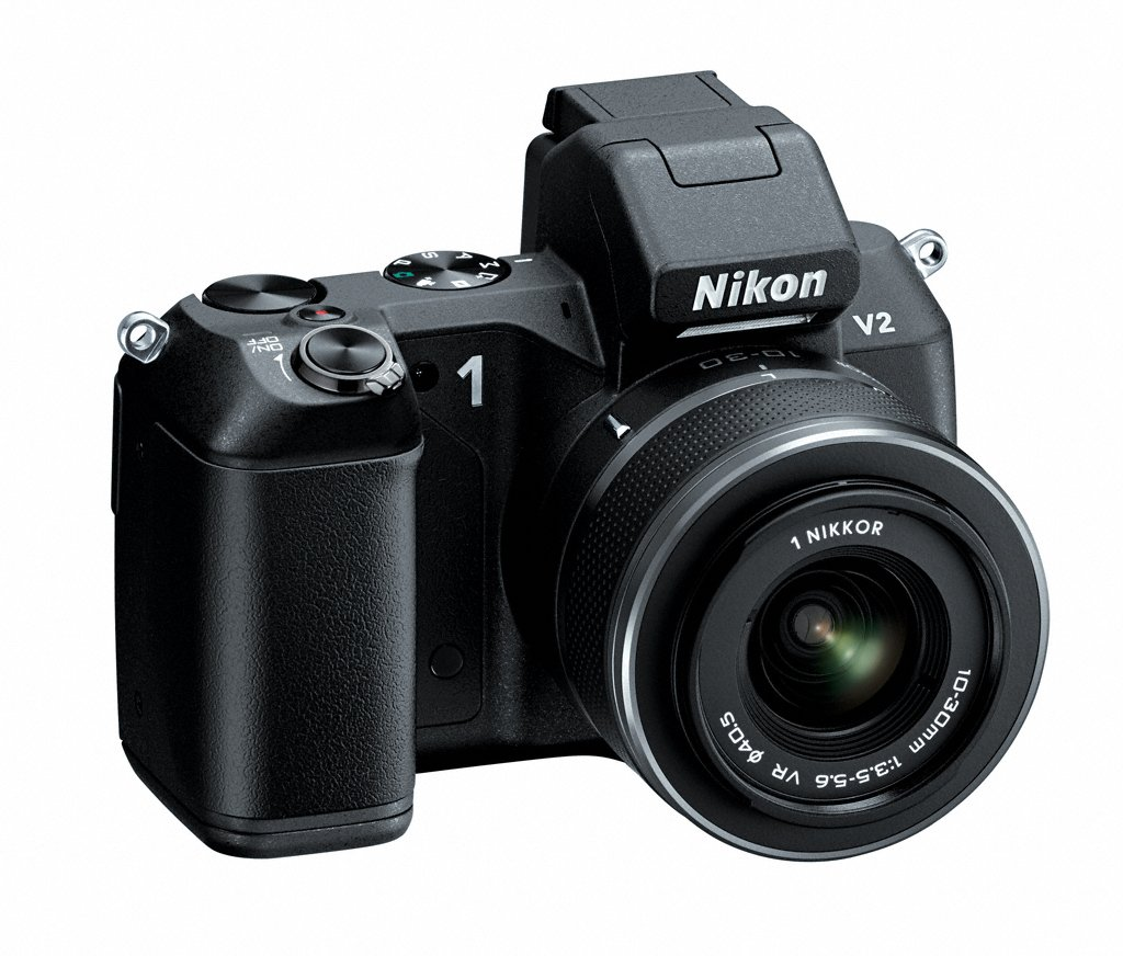 Nikon 1 V2 Compact System Camera - With New Grip