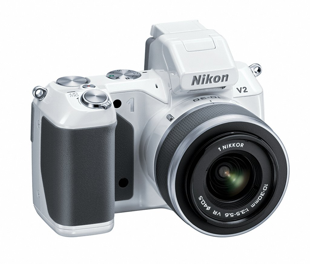 Nikon 1 V2 Compact System Camera - White