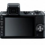 Nikon 1 V2 Compact System Camera - Rear View