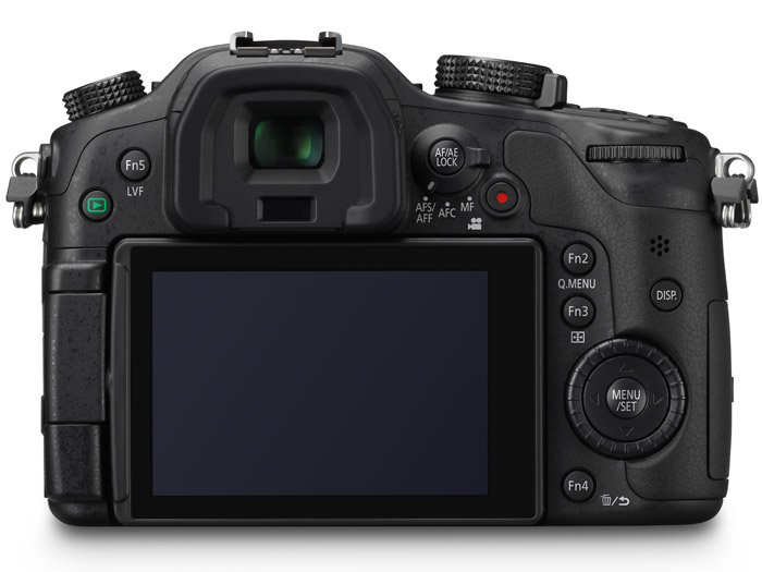 Panasonic Lumix GH3 - Rear View