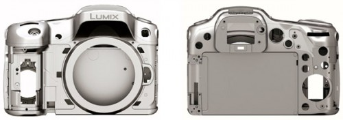 Panasonic Lumix GH3 - Magnesium Alloy Chassis